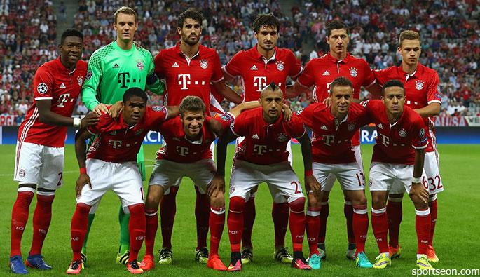 Bayern Munchen Football team Bayern Munchen Football team