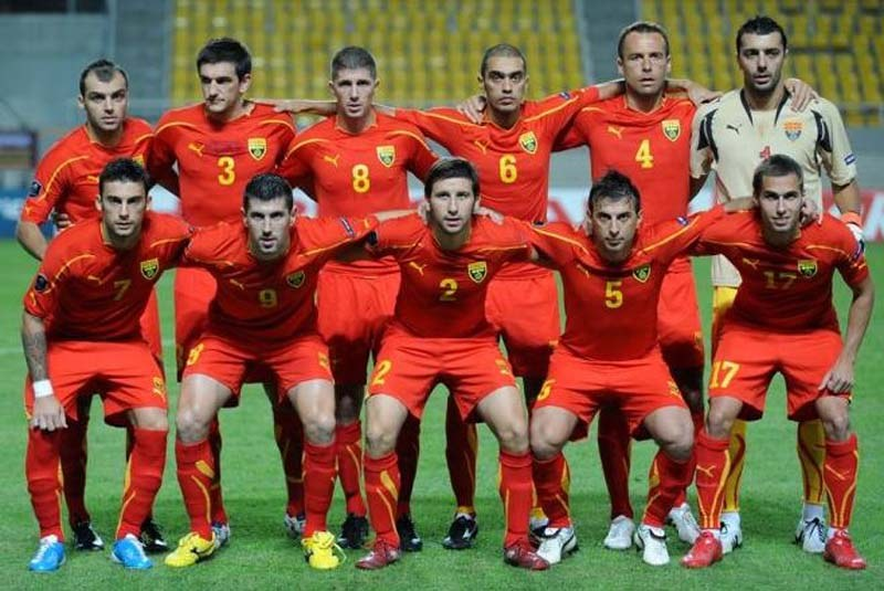 FYR MACEDONIA Team Football 2017