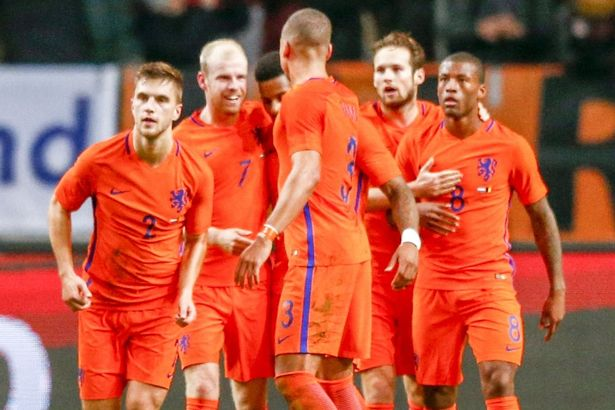 NETHERLANDS TEAM FOOTBALL 2017