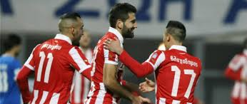OLYMPIAKOS PIRAEUS TEAM FOOTBALL 2017