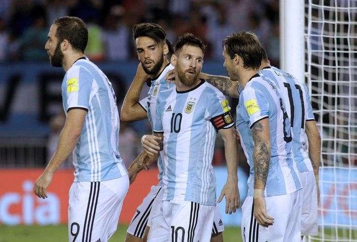 ARGENTINA TEAM FOOTBALL 2017