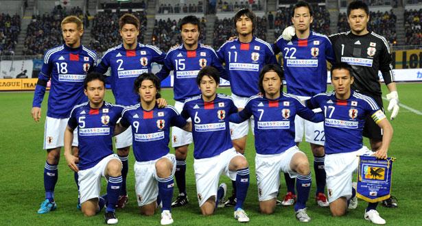 JAPAN TEAM FOOTBALL 2017