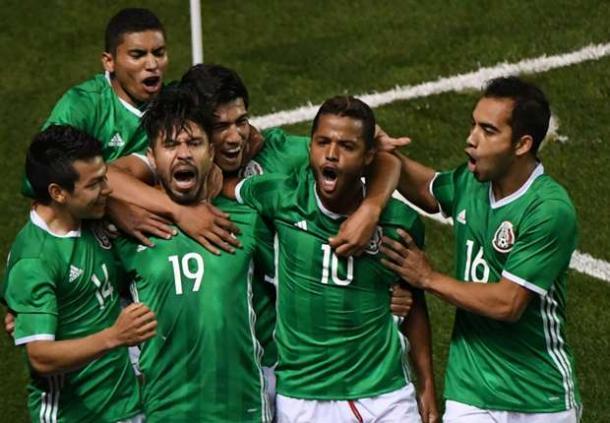 MEXICO TEAM FOOTBALL 2017