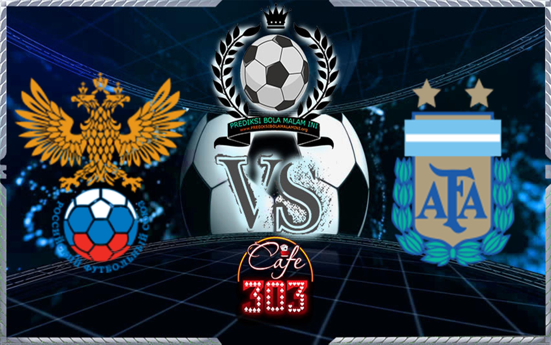 Prediksi Skor Russia Vs Argentina 11 November 2017