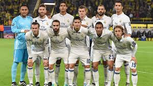 REAL MADRID TEAM FOOTBALL 2017