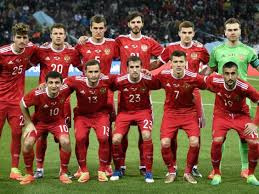 RUSSIA TEAM FOOTBALL 2017