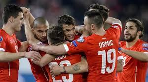 SWITZERLAND TEAM FOOTBALL 2017