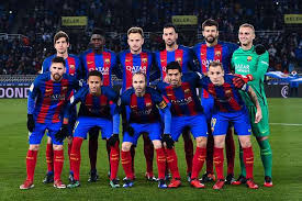 barcelona team football 2017