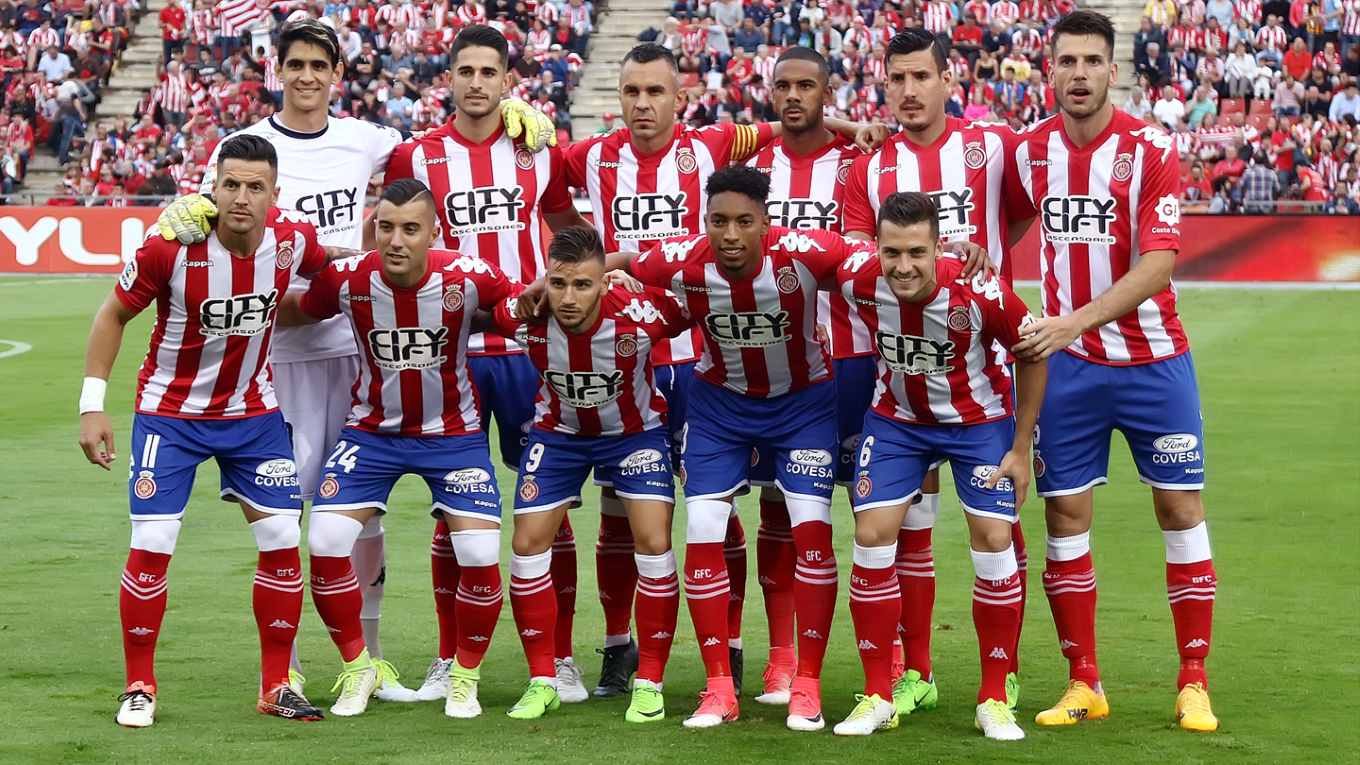 GIRONA FOOTBALL TEAM