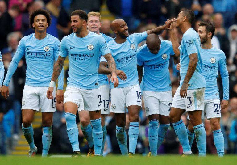 Manchester CIty Football Team