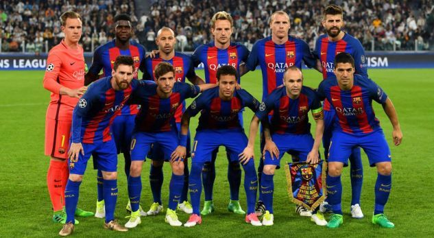 BARCELONA Team Football 2018