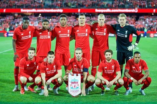 LIVERPOOL Team Football 2018