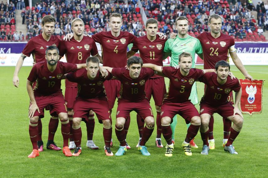 RUSSIA Team Football 2018