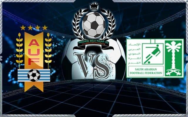 Predicks Skor Uruguay vs Arab Saudi 20 Juni 2018