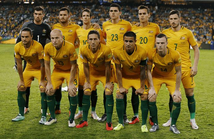 AUSTRALIA Team Soccer 2018