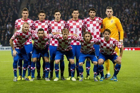 Tim sepakbola CROATIA 2018