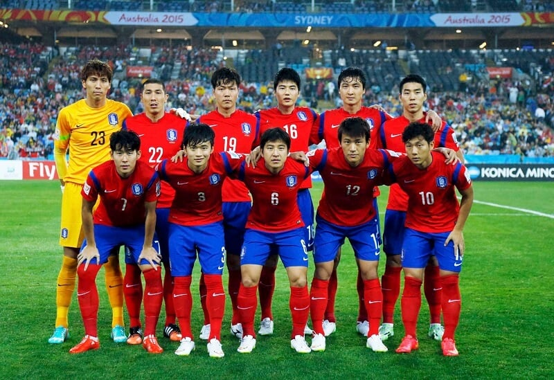 KOREA REPUBLIC Team Football 2018 &quot;width =&quot; 533 &quot;height =&quot; 366 &quot;/&gt; </p> <p><span style=