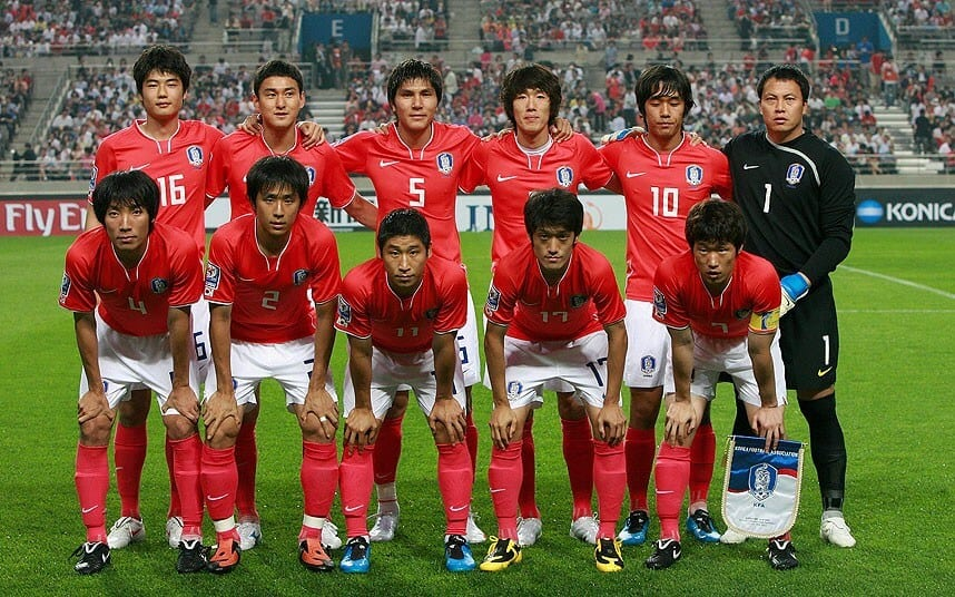 KOREA REPUBLIC Tim Sepak Bola 2018