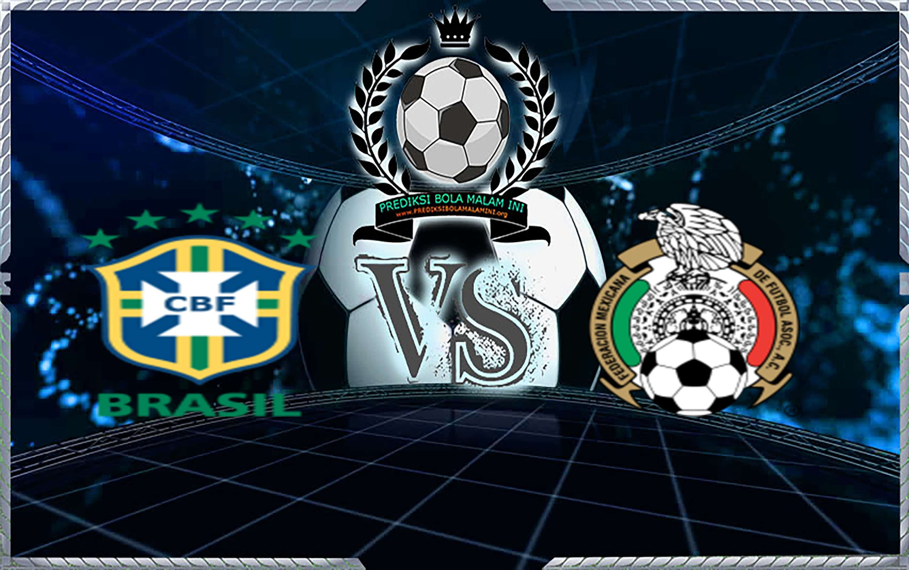 Prediksi Shoes Brazil vs Mexico 02 Juli 2018 1