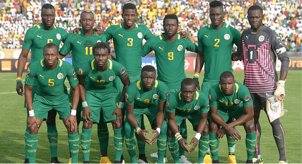 Senegal Football Team </p> <p><img class=