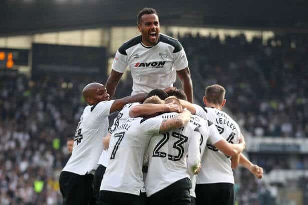 Derby County Tim Sepak Bola (2)