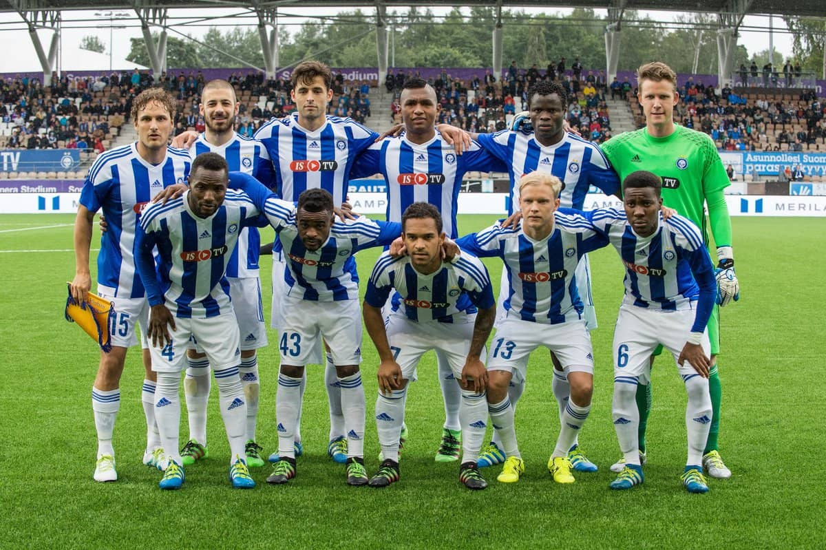 Hjk Football Team </p> <p><img class=