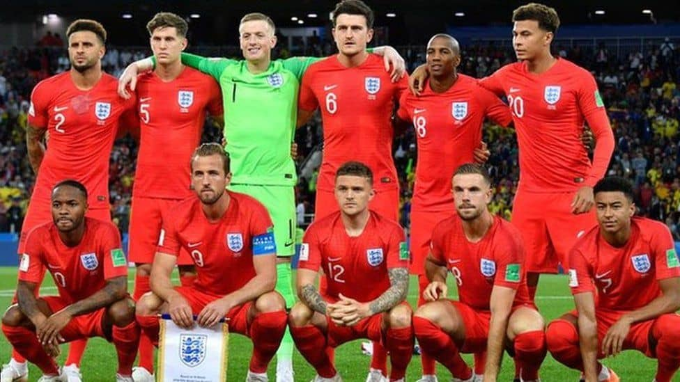 Tim Sepak Bola Inggris