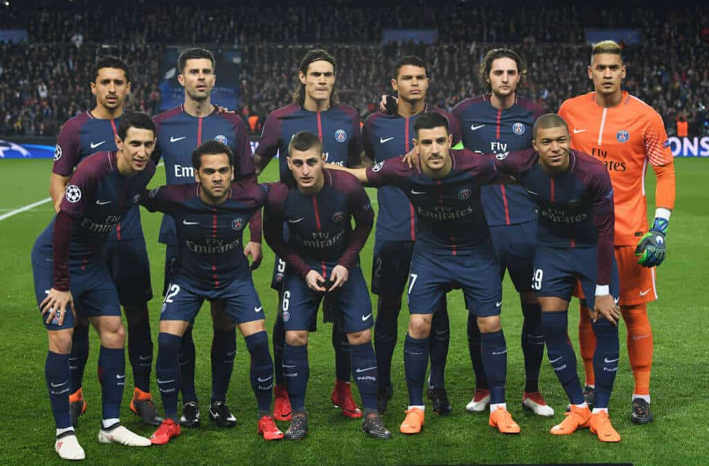 PSG Team Football 2018