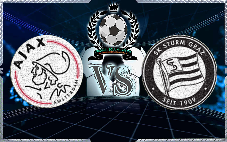 Prediksi Ajax Vs Strum Graz 26 Juli 2018 (Bola)