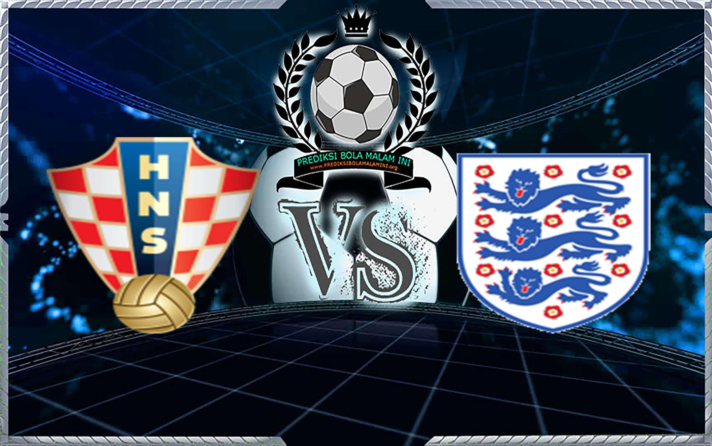 Predydsi Skor Kroasia Vs Inggris 12 Jul 2018 1