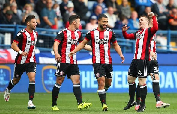 SHEFFIELD UNITED Team Football 2018
