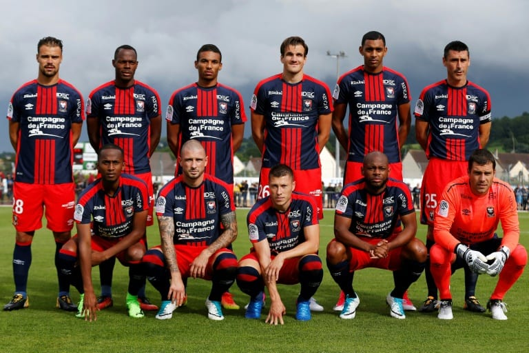 Caen Football Team