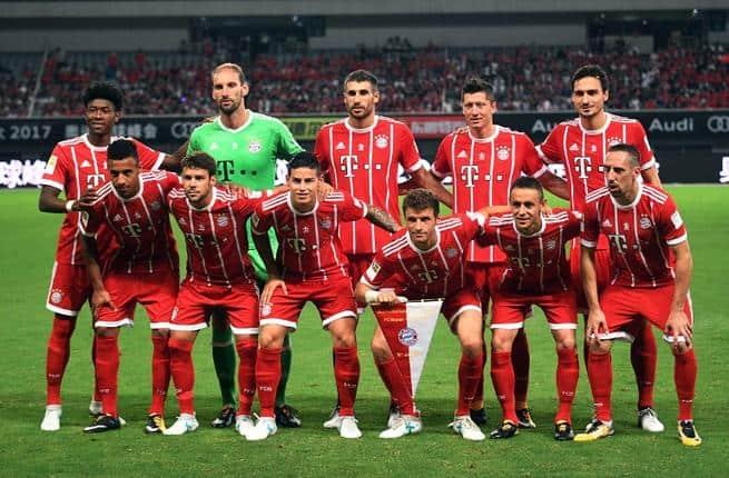 FOTO team football BAYERN MÜNCHEN WLLWL