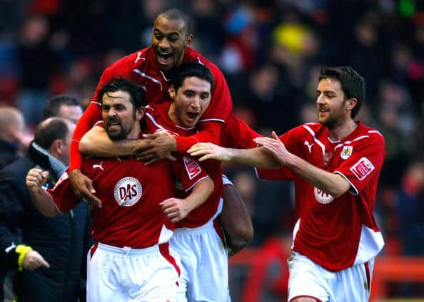 FOto team football BRISTOL CIty