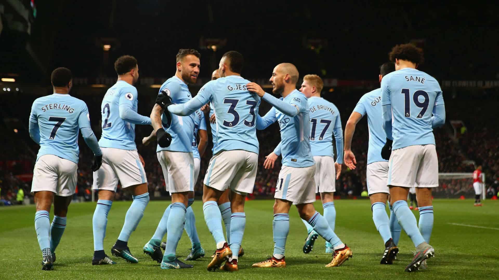 MANCHESTER CITY Team Football 2018