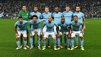 MANCHESTER CITY Team football 2018