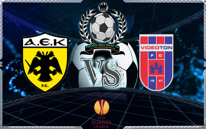 Prediksi Skor AEK ATHENS Vs VIDI 29 Agustus 2018