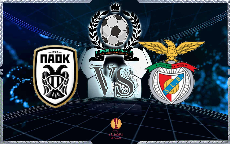 Prediksi Scor PAOK Vs BENFICA 30 Agustus 2018