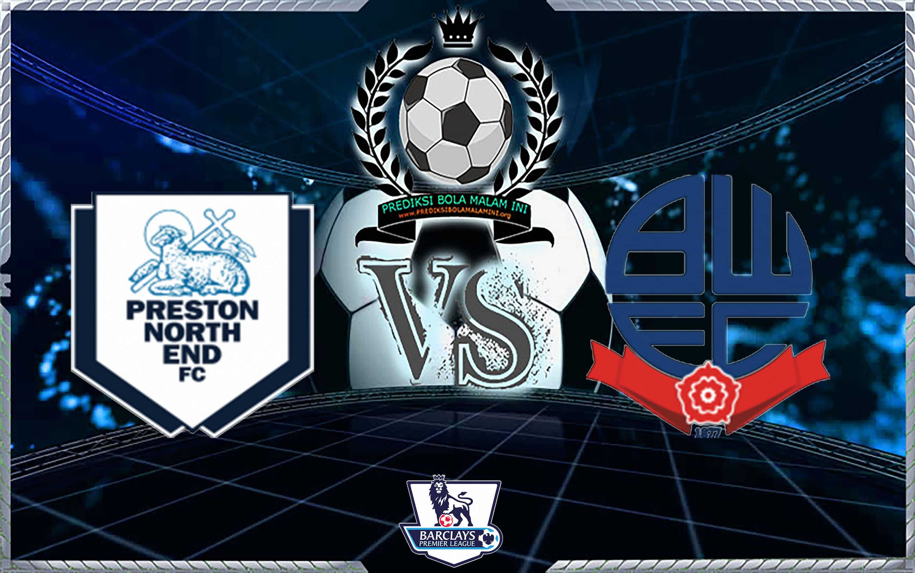 Prediksi Skor PRESTON UTARA AKHIR Vs BOLTON WALLERS 1 September 2018