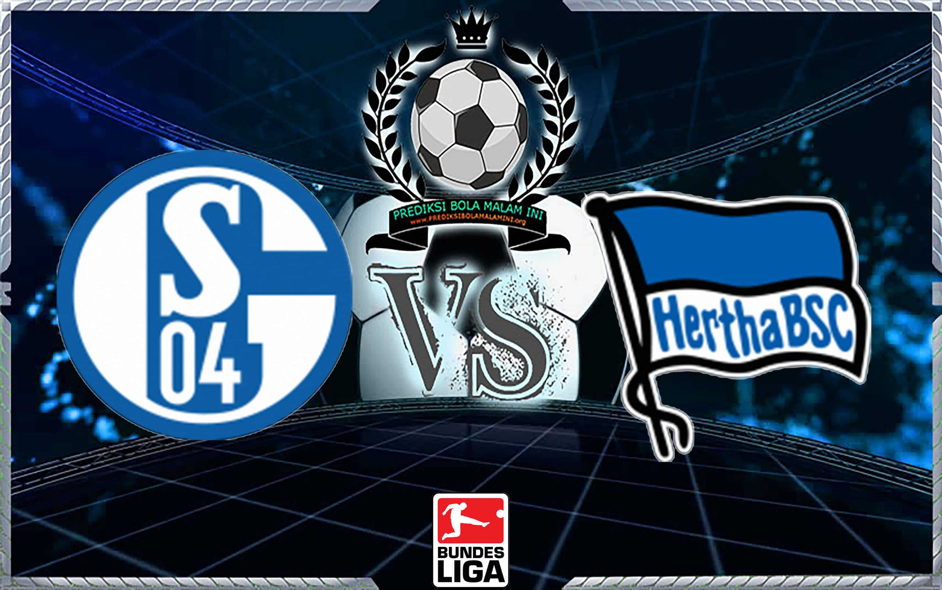 Memprediksi Spots SCHALKE 04 Vs HERTHA BSC 2 September 2018