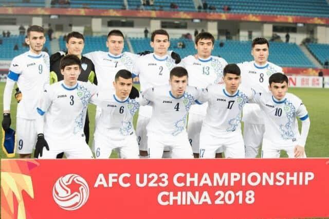 UZBEKISTAN U23 Team Football 2018