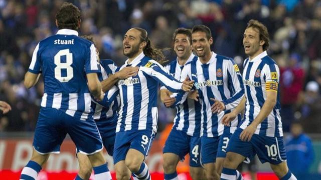 tim sepak bola foto ESPANYOL
