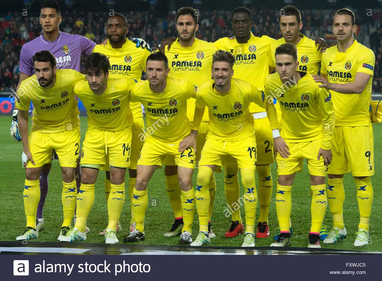 foto football team VILLARREAL