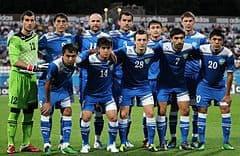 foto footboll team UZBEKISTAN U23 png