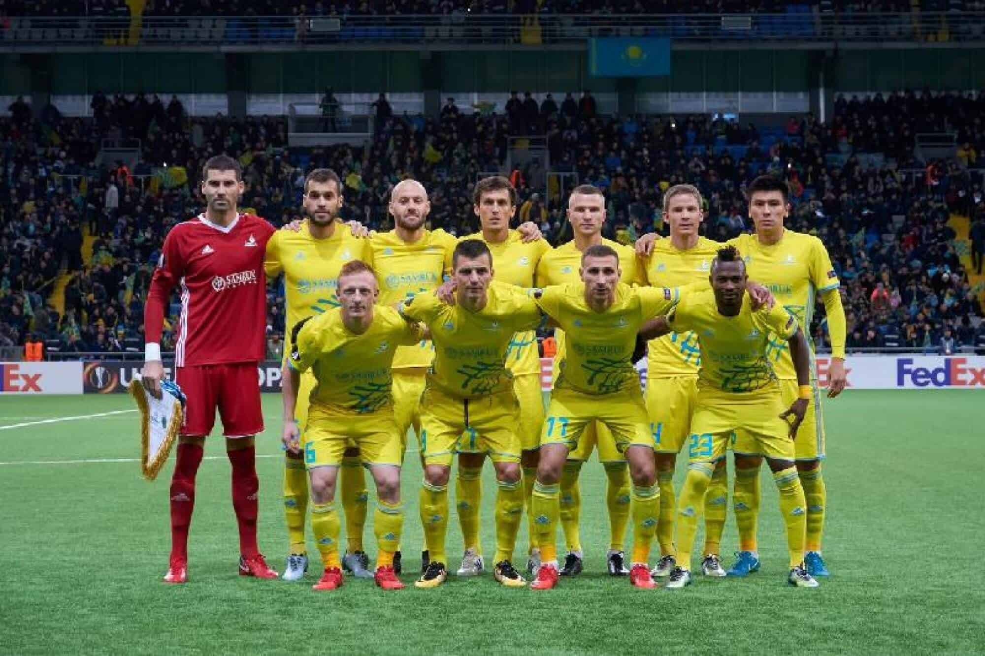 foto team football ASTANA