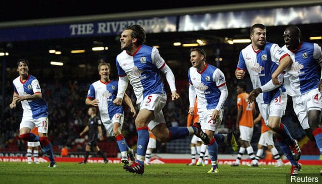 foto tim sepakbola BLACKBURN ROVERS