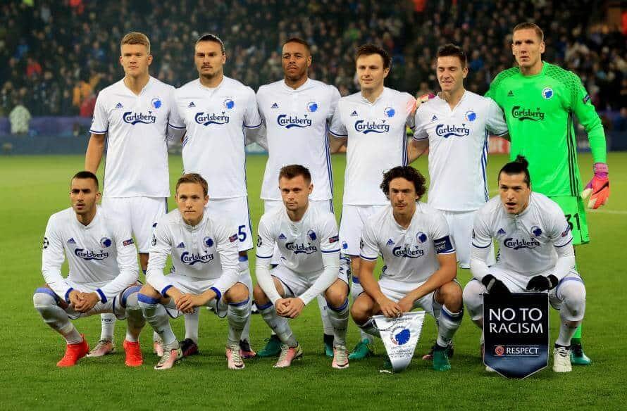 foto tim sepakbola BRØNDBY