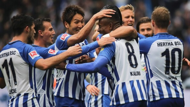 foto tim football HERTHA BSC