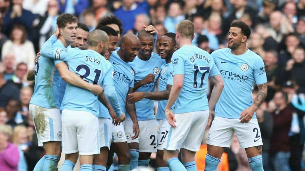 foto team football MANCHESTER CITY