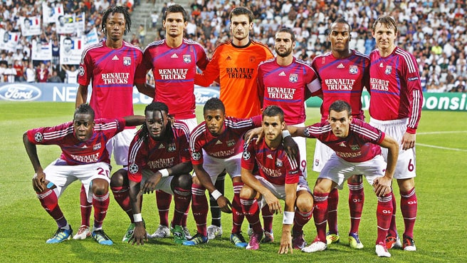 foto team football OLYMPIQUE LYONNAIS